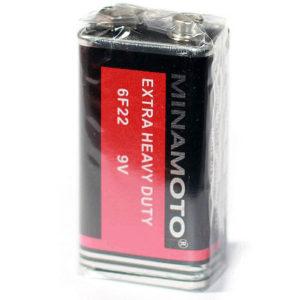 Батарейка солевая Minamoto Крона 6F22 (1S)