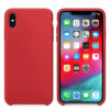 Чехол Iphone X, XS Silicone Case red