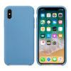 Чехол Iphone XS Max Silicone Case blue