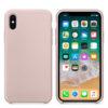 Чехол Iphone XXS Silicone Case pink